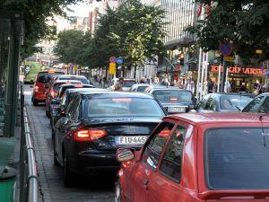Cars on Mannerheimintie