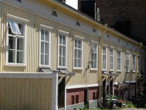 Tampere wood building